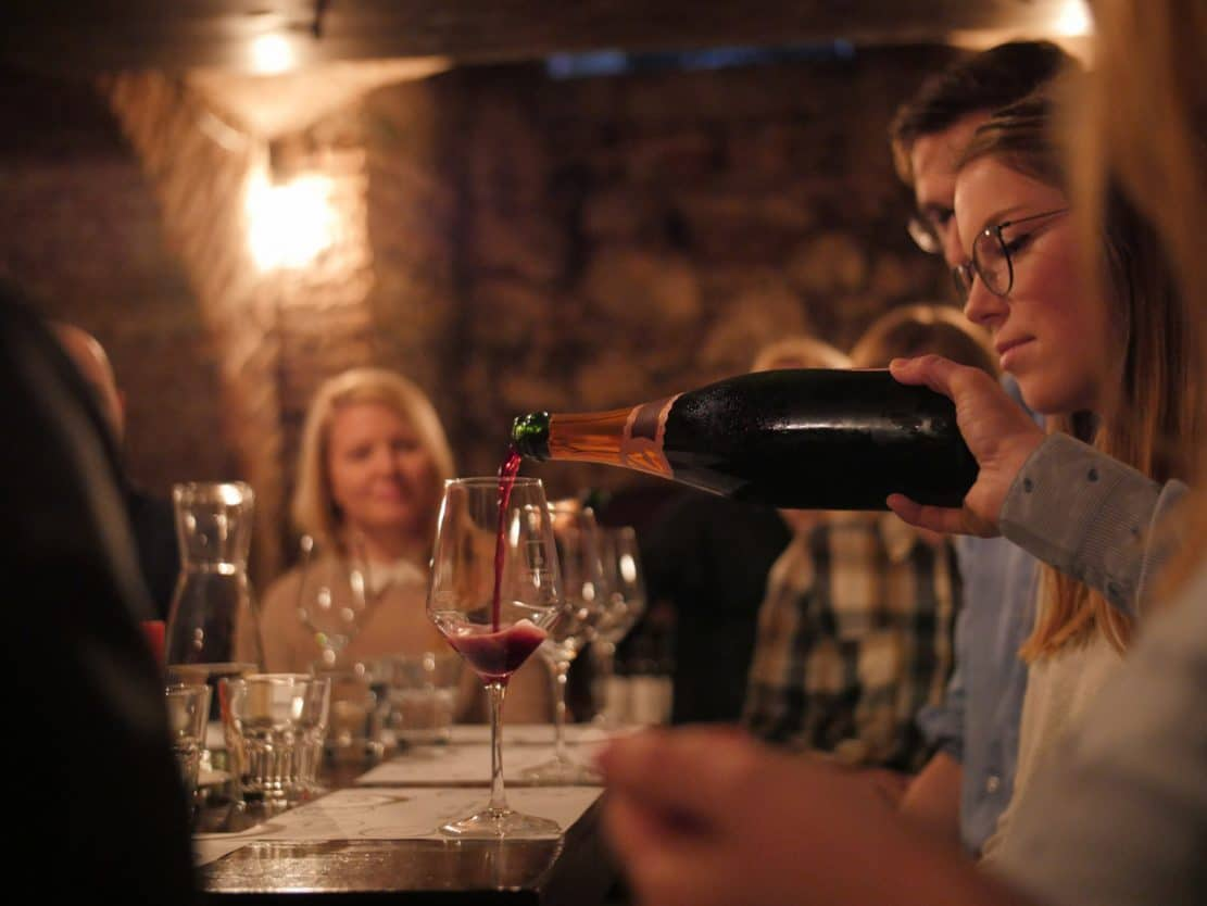 Cata de vinos en Liubliana
